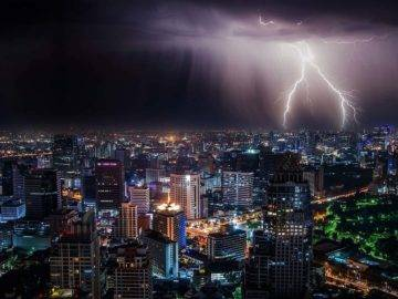 What Would Happen If Lightning Storms Never Stopped?