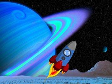 What Would Happen If You Jumped Into Saturn's Rings?