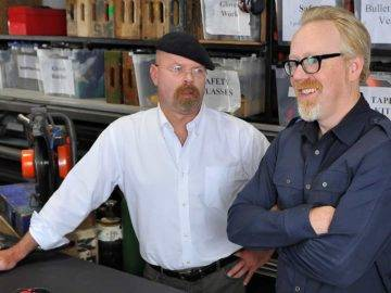 Top 10 Funniest MythBusters Moments!