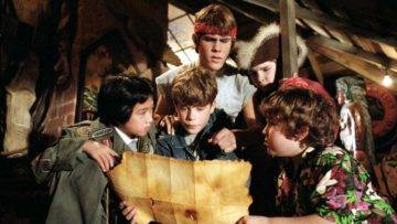 A Look Back At Behind The Scenes Of The Goonies!