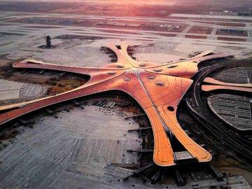 The AMAZING Daxing International Airport – Inside China's New $18 Billion Dollar Airport!