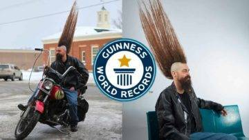 Person With The Tallest Mohawk Haircut World Record?