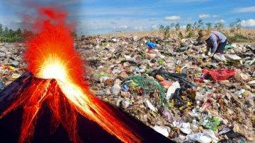 What If We Dumped All The Garbage In The World Into Volcanoes?