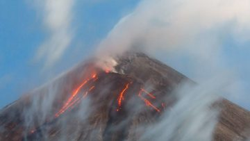 What If A Tornado Hit An Active Volcano?